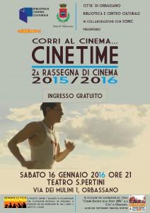 Cinetime 16 Gennaio