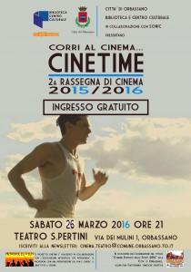 Cinetime 26 Marzo